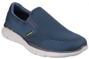 Mens Skechers 51509 NVY Navy Equalizer Slip-On Trainers